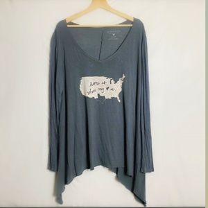 Altard State Tunic Texas Deep neck tunic